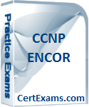Cisco CCNP ENCOR 350-401 Practice Test BoxShot