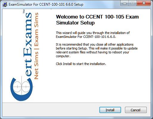 Certexams.com Product Install Setp 2