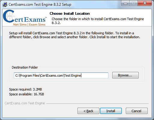 Certexams.com Product Install Setp 6